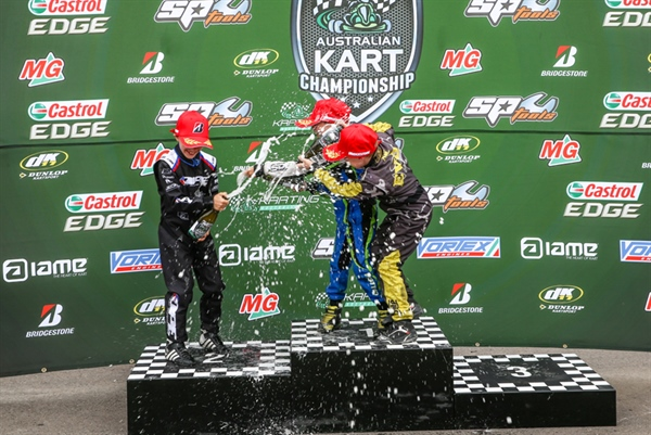 Australian Kart Championship: Supercars driver takes Championship opener at the bend