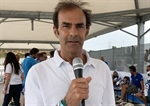 ACI Karting Commission President Emanuele Pirro's point before the restart of the activity