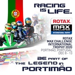 The 2020 RMCIT is postponed in Portimão, from 8th to 13th December