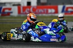 Qualifying named the first protagonists of WSK Euro Series in Sarno