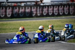 Spectacle at the WSK Euro Series in Sarno