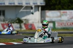 Tony Kart Racing Team at the frist round of the Champions of the Future in Zuera Spain