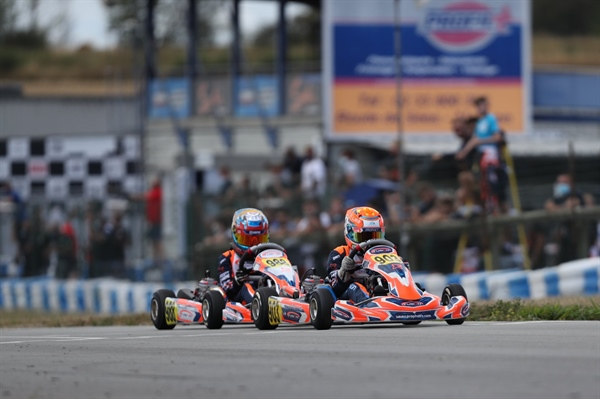 IAME Euro Series Round 1 – Heats: Volt and Robinson join Bradshaw in the lead