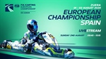 Sunday LIVESTREAM FIA Karting European Championship - OK & Junior at Zuera