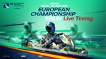 LIVETIMING and RESULTS of the FIA Karting European Championship - OK & Junior at Zuera