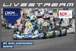 SATURDAY LIVESTREAM of the German Kart Championship Round 1 on the Erftlandring in Kerpen