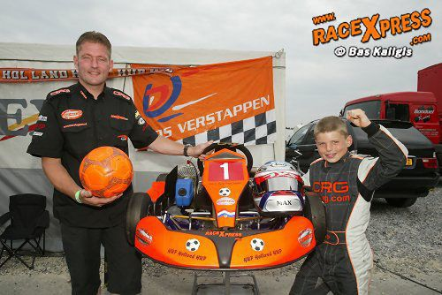 "Interview Max and Jos Verstappen about karting: ""The next season he won everything! He was so focused!"""