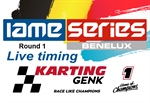 Livetiming Round 1 IAME Series BENELUX at Genk