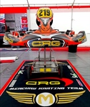 Team Mercury in the Italian Championship with the support of CRG