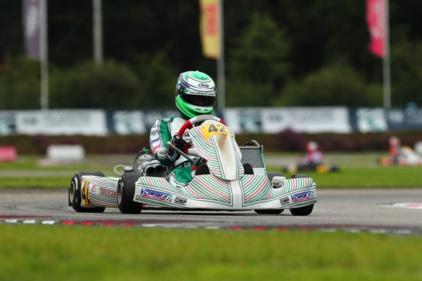 Simo Puhakka brings Tony Kart onto the podium of the general rating of the FIA Karting