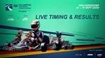 Livetiming: FIA Karting European Championship - OK & Junior at the Prokart Raceland in Wackersdorf