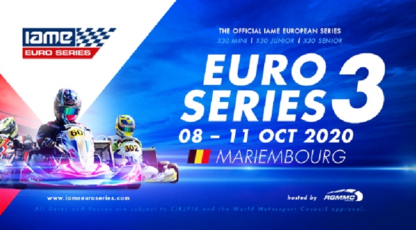 IAME Euro Series Race 3: Entries are now open!