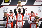Birel ART: Five podiums at Lonato and a hat-trick in the Championship