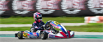 Excellent results and podium for Kosmic Racing Department at South Garda Karting