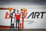 "Birel ART: ""A double and another podium at the World Championship in Lonato"""