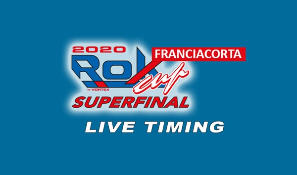 Live timing: 2020 ROK Cup Superfinal at Franciacorta Kart Track