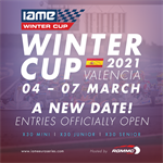 IAME Winter Cup 2021 Date change!