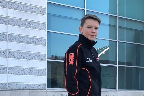 Maksymilian Obst joins CRG in the OK Junior category