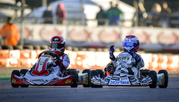 The WSK Super Master Series of Adria goes to Gustavsson (KZ2), Camara (OK), Al Dhaheri (OKJ) and René Lammers (MINI)