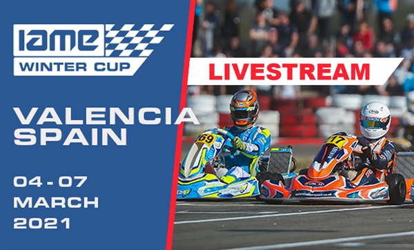 Saturday Livestream: 2021 IAME Winter Cup in Valencia