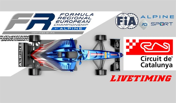 Livetiming Formula Regional EU by Alpine: Barcelona, collective tests, 33 drivers ready for two full days