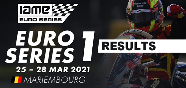 Results: IAME X30 Euro Series Round 1 at Mariembourg Belgium