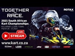 Livestream: Round 1 of 2021 SA Rotax Max Challenge Championships at Killarney Cape Town