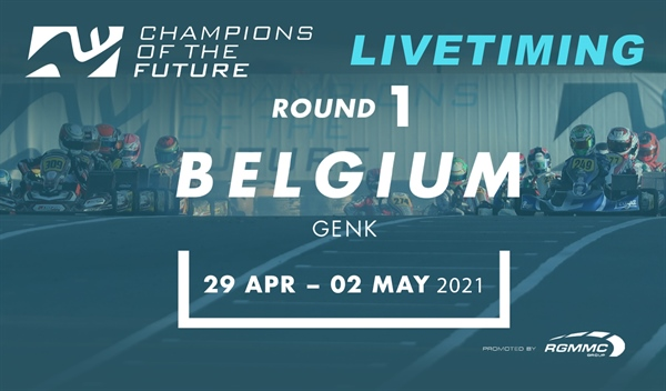 "Livetiming: Round 1 of the ""Champions of the Future"" in Genk"