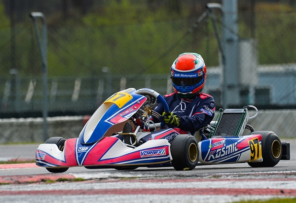 Win for Kosmic Kart in Genk
