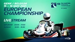 Sunday Livestream: Round 1 of the FIA Karting European Championship - OK & Junior at Genk