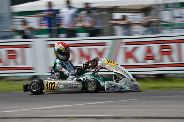 Top weekend for the Tony Kart Racing Team in the European Championship of OK and OKJ in Sarno
