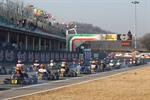 WSK Super Master Series rd. 2 - timing practice and qualifying heats at Lonato (BS)