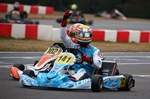 The king of Lonato! KZ2 victory to Ben Hanley, while Hannes Janker won OK, Paul Aron OK-Junior and Andrea Kimi Antonelli Mini Rok