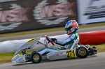 Excellent performances for Vortex on the third round of WSK Super Master Series