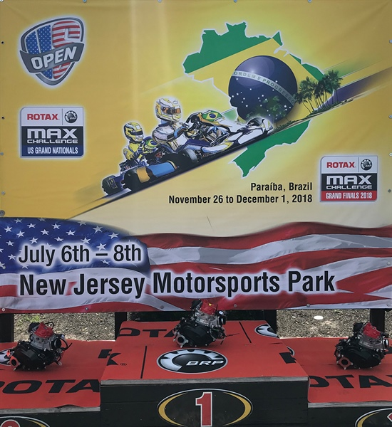 Competitive International line-up in New Jersey and Rotax Max