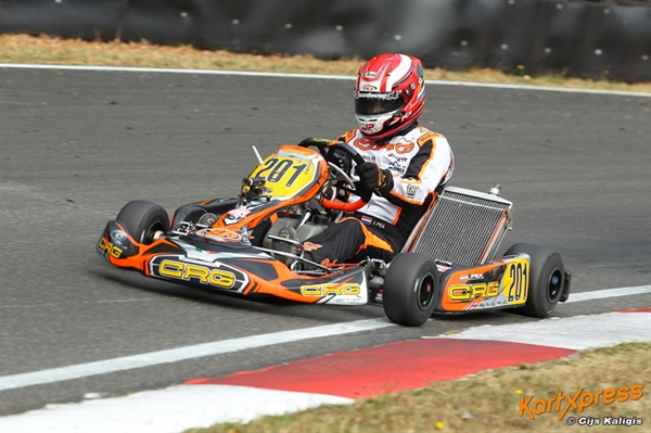 CRG leading DKM's KZ2 with three drivers