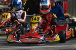 Maranello Kart at the Italian Championship in Val Vibrata. Debut for Francesco Lacovacci