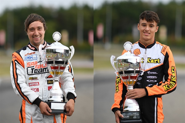 CRG taking the win in DKM with Federer in KZ2 and Denner in KZ2 Cup