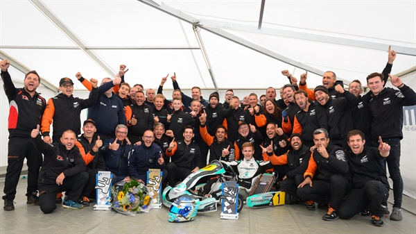 Rosberg Racing and Travisanutto Champions of the World!