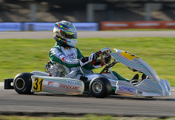 Tony Kart In The Top 5 List Of The Fia Karting World Championship