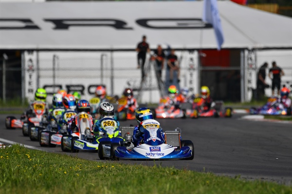 Positive Vibes For Baby Race In European Championship In Sarno