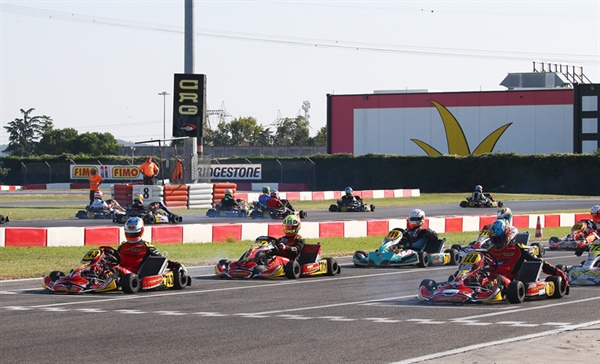 Maranello Kart dominantes KZ2 at the opener of the Autumn Trophy in Lonato