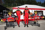 Maranello Kart at force in La Conca for the ltalian ACI Karting Championship