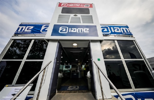 Major worldwide event of IAME has got under way at Le Mans!