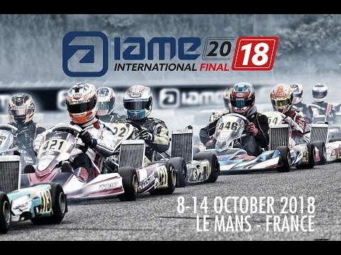 Livestream of the best Warriors of IAME X30 in Le Mans fighting for the biggest price of the year!