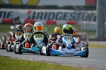 WSK Final Cup at Lonato Baby Race on the podium with Irfan