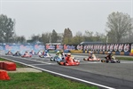 Qualifying heats at the WSK Final Cup in Castelletto (I)