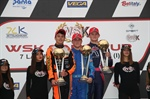 Denner on the podium of WSK Final Cup in Castelletto