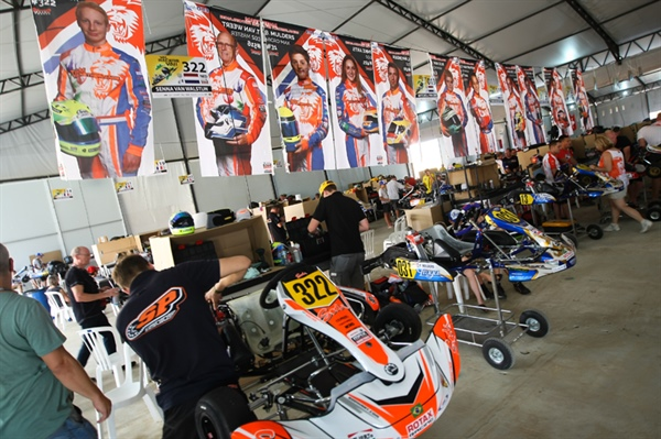 Daily Report 2 Rotax Max Challenge Grand Finals: Second day on track