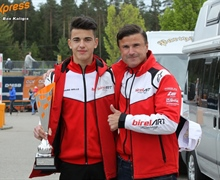 Stephan Fritsch and passion for karting at Prokart Raceland Wackersdorf